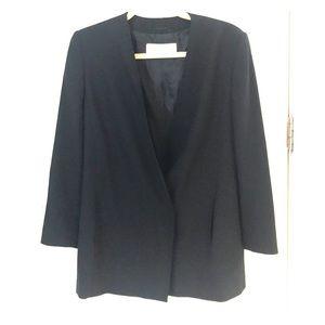 Classic Black Max Mara blazer/jacket Sz 8